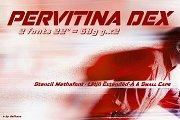 Pervitina Dex -2 fonts-