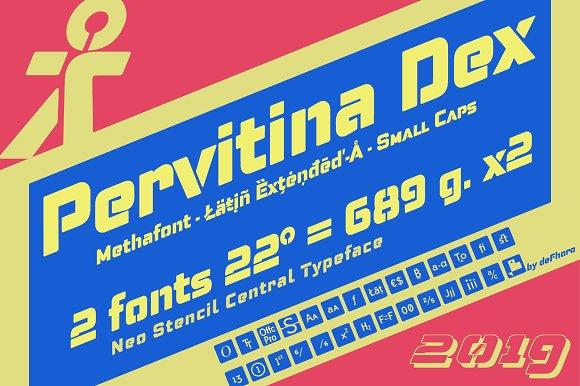 Pervitina Dex -2 fonts- in Sans-Serif Fonts - product preview 5