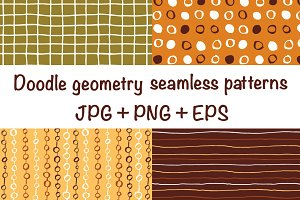 Doodle geometry - 9 patterns