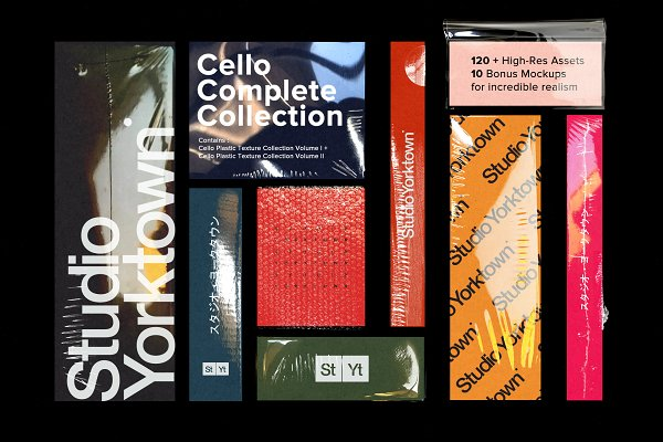 Cello COMPLETE Texture Collection