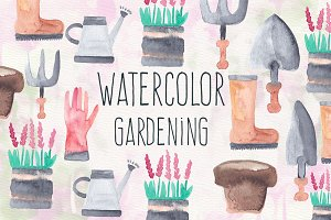 Watercolor Gardening