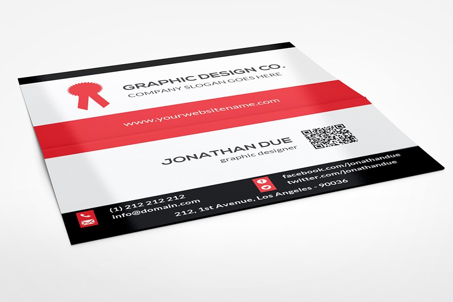 Folded Business Card Vol-2