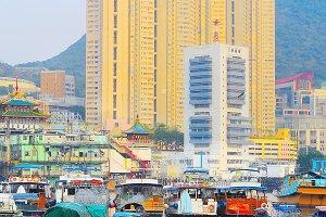 Aberdeen floating village, Hong Kong