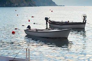 Fishing boats, Montenegro