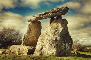 Sorginetxe dolmen in the Basque Coun