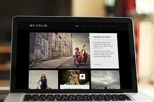 My Folio – One-Page Portfolio HTML5