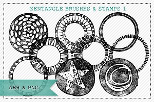 Zentangle® Inspired Brushes/Stamps 1