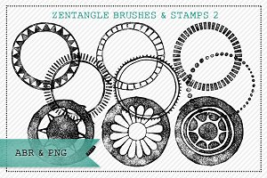 Zentangle® Inspired Brushes/Stamps 2