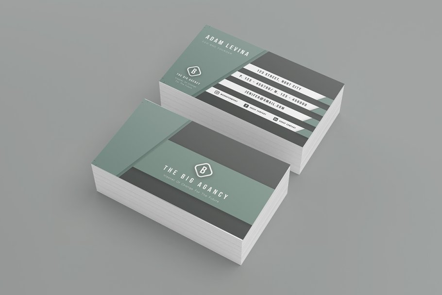 The Big Agency Business Cards