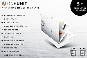 OneUnit  Multipurpose HTML5 Template