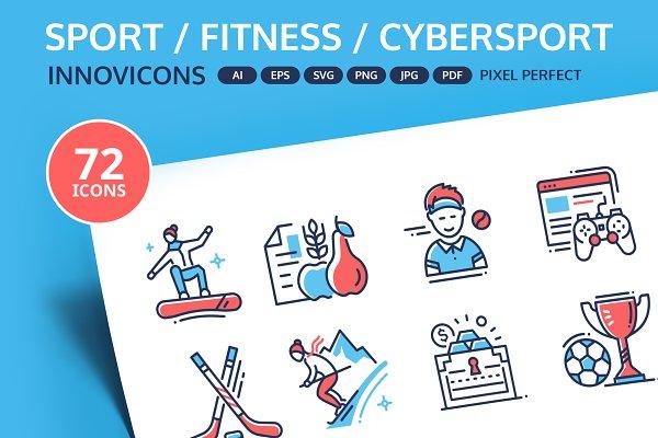 Sport & Cybersport Innovicons set