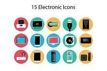15 Electronic Icons