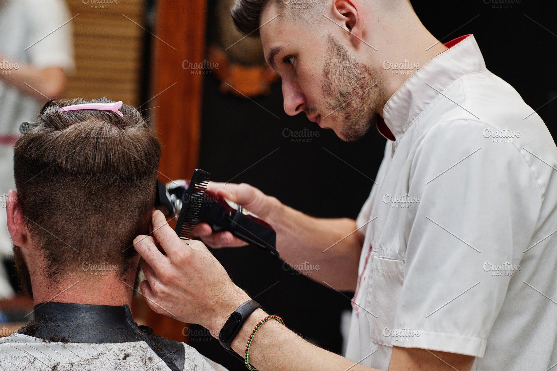 Getting A Haircut 43