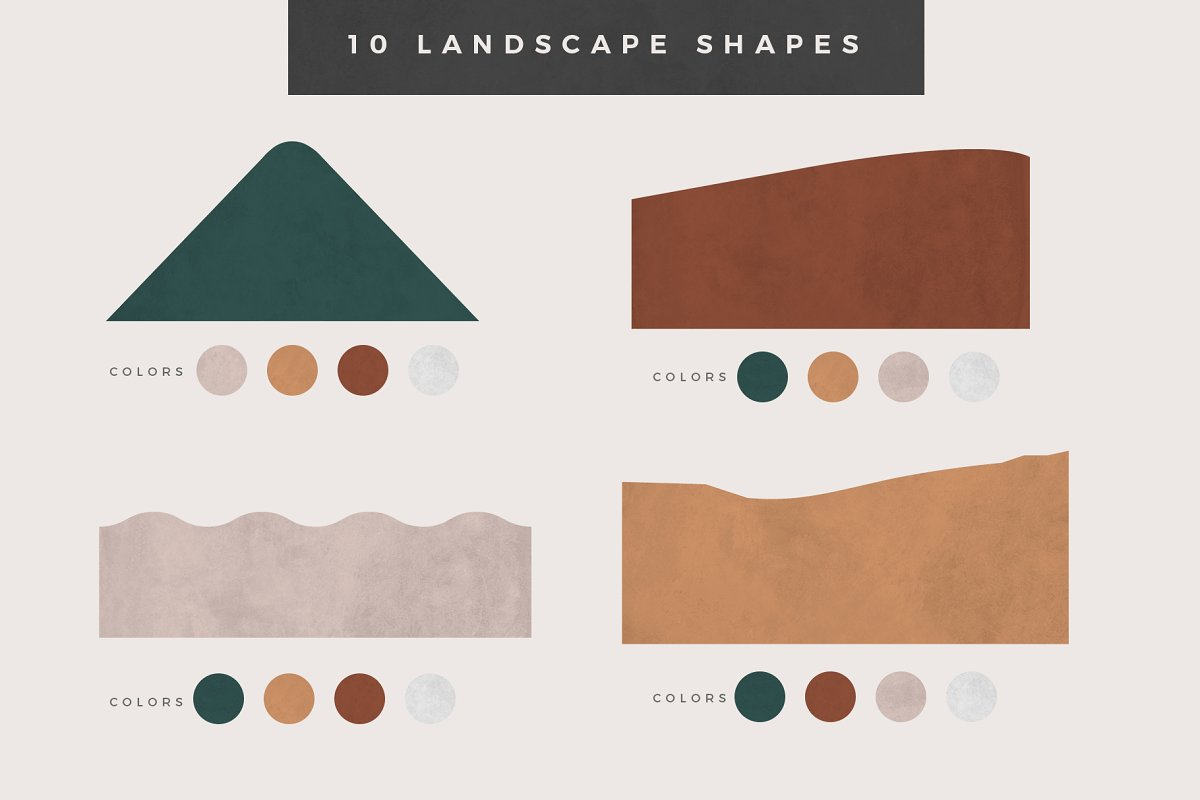 Landscape Creation Kit in Illustrations - product preview 2