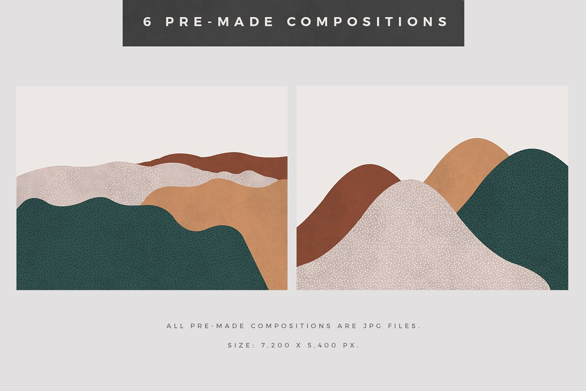 Landscape Creation Kit in Illustrations - product preview 4
