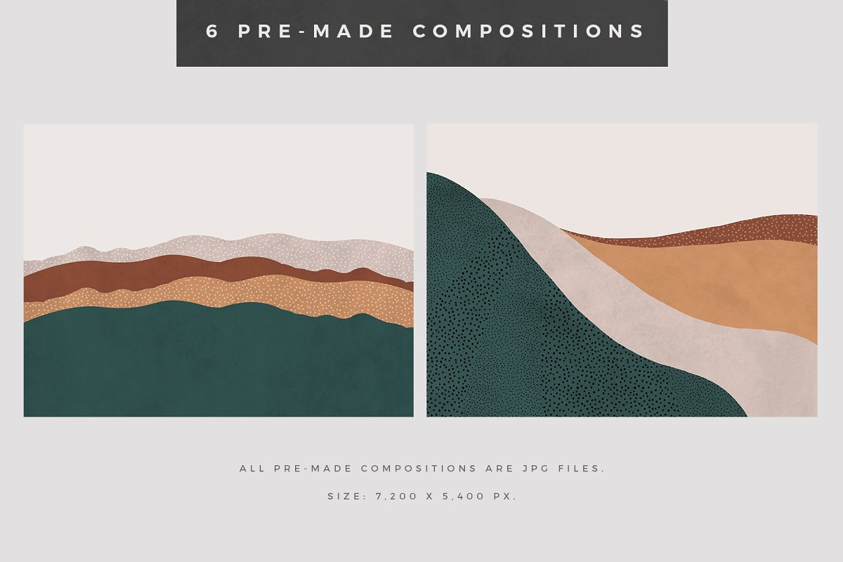Landscape Creation Kit in Illustrations - product preview 6