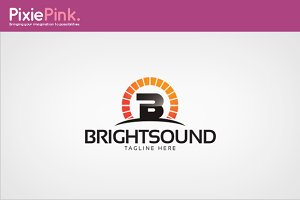 Bright Sound Logo Template