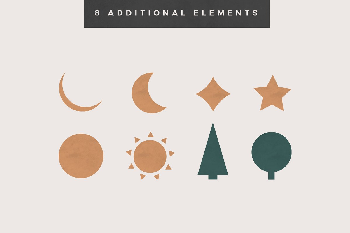 Landscape Creation Kit in Illustrations - product preview 9