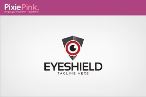 Eye Shield Logo Template