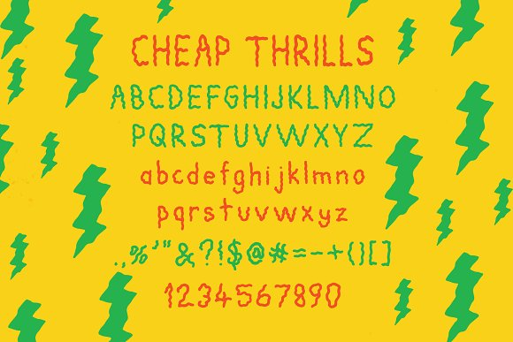 Cheap Thrills Font in Sans-Serif Fonts - product preview 2