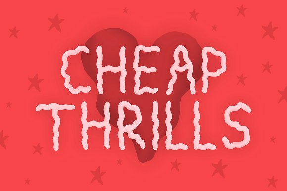Cheap Thrills Font in Sans-Serif Fonts - product preview 3