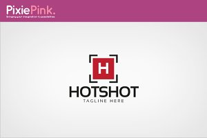 Hot Shot Logo Template