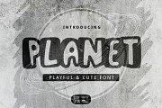 Planet Font