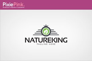 Nature King Logo Template