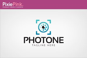 Photone Logo Template