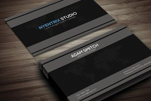 Modern Clean Creative Business Card