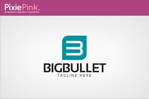 Big Bullet Logo Template