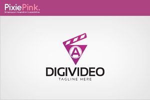 Digi Video Logo Template