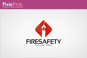 Fire Safety Logo Template