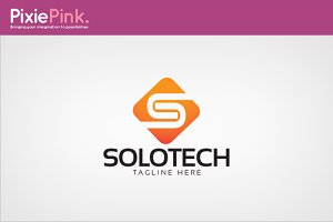 Solo Tech Logo Template