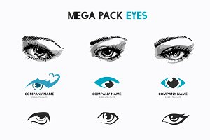 Mega pack eyes