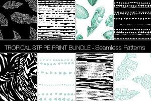 Tropical Stripe Pattern Bundle