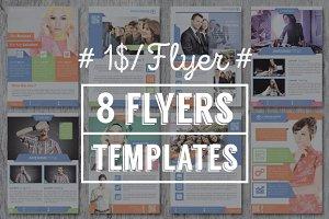 8 Flyers Templates - v1