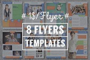 8 Flyers Templates - v2