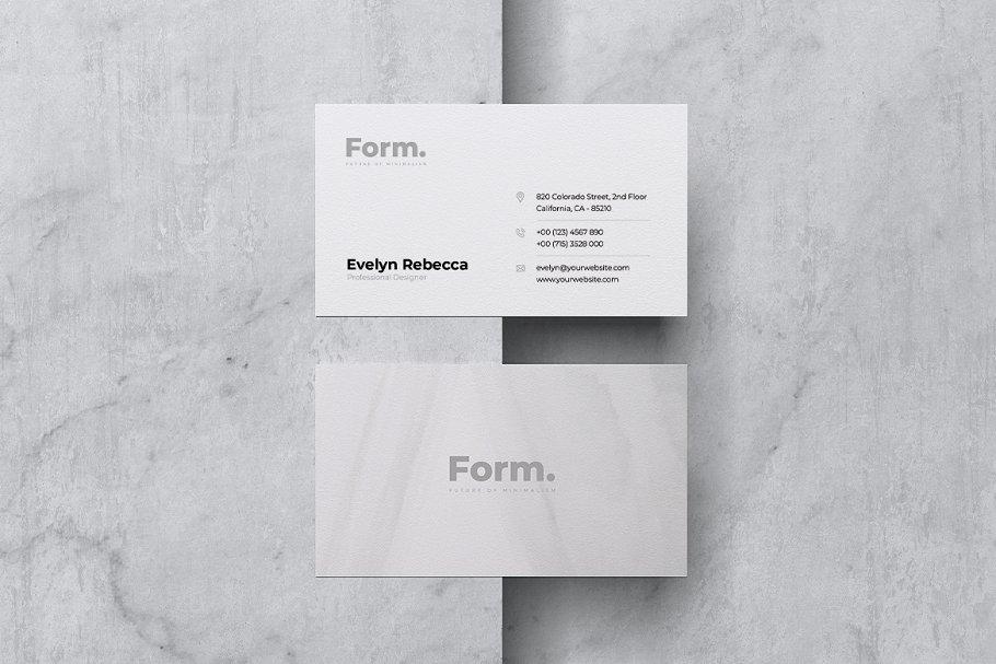 Minimalist Business Card Vol. 45