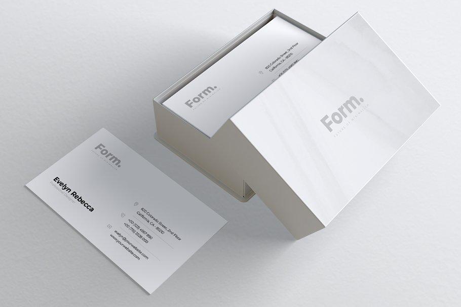Minimalist Business Card Vol. 49