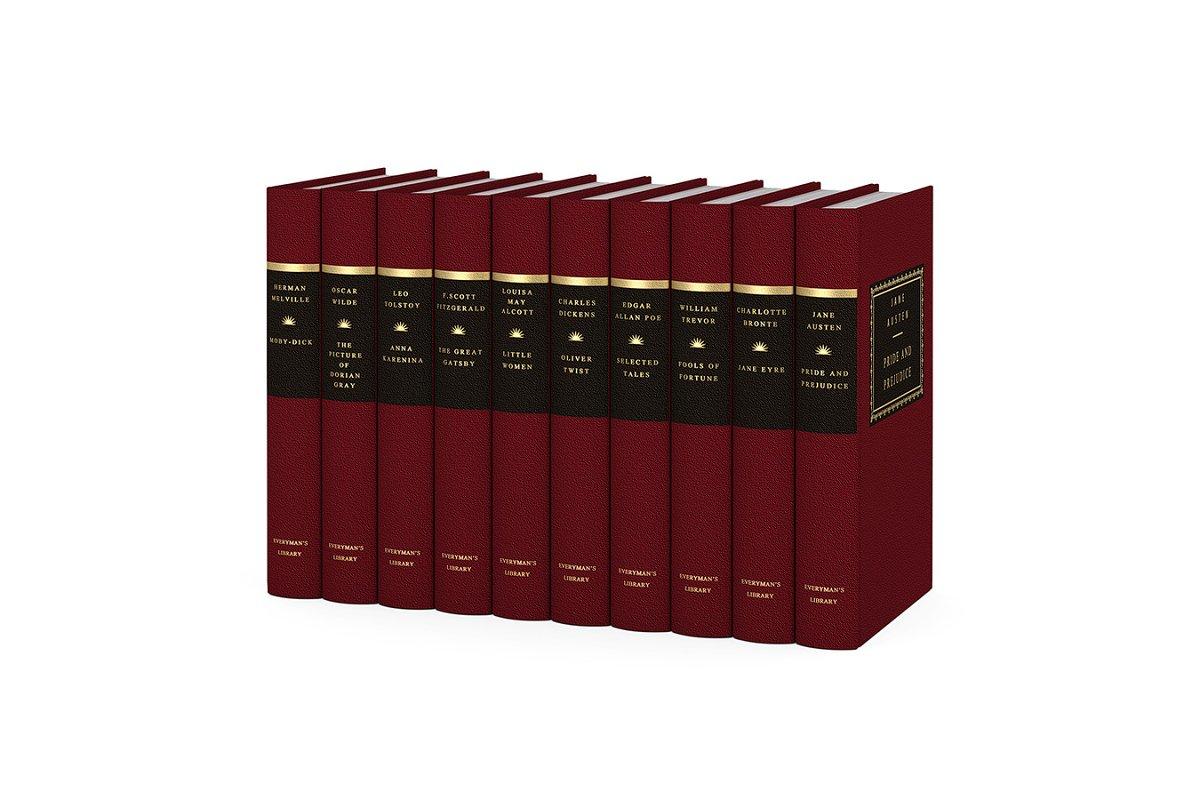 Everyman's library classics 3d model