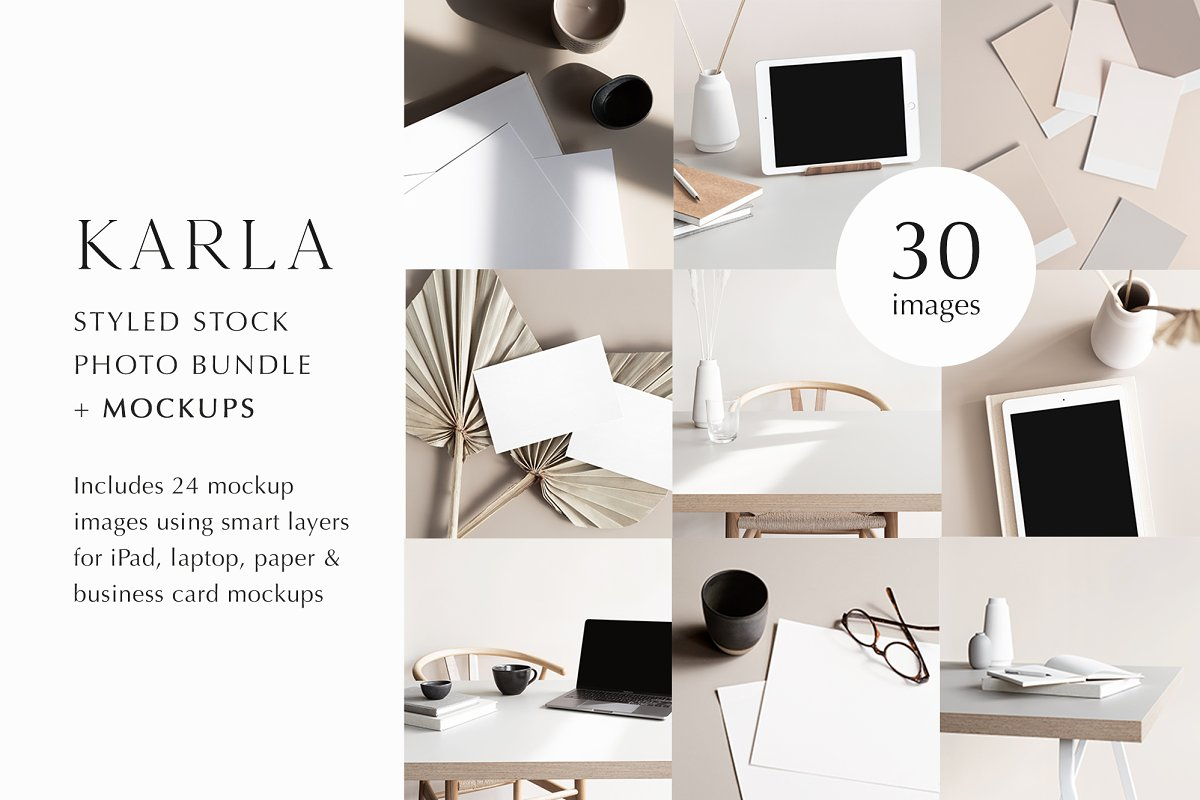 Karla Photo Mockup Bundle
