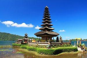 Ulun Danu Temple,Bali island