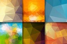 Delightful poligonal backrounds