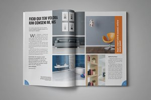 Decor Magazine Template Vol 7