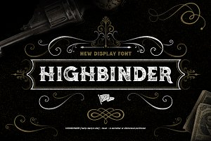 Highbinder Display Font