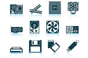 Set of 12 Spa Icons