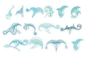 Stucco motifs