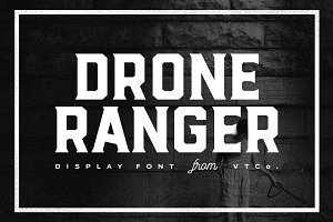 Drone Ranger Display Font [SALE]