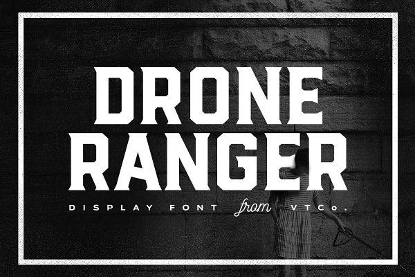 Drone Ranger Display Font [SALE]